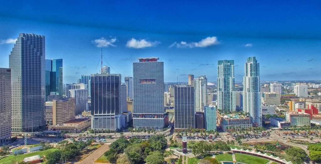 Sunny day in Miami
